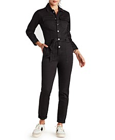 The Coverall Tie-Waist Jumpsuit