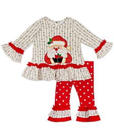 Baby Girls Santa Legging Set