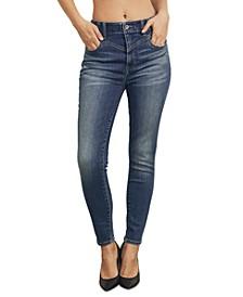 Juniors Front Yoke Jeans