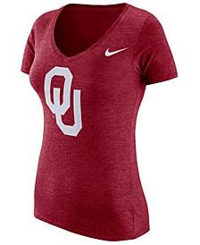 Women's Oklahoma Sooners Logo Tri-Blend T-Shirt