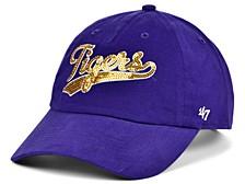 LSU Tigers Women's Sparkle Swoop Cap