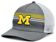Michigan Wolverines Highland Mesh Trucker Cap
