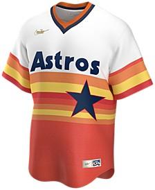 Houston Astros Men's Coop Blank Replica Jersey