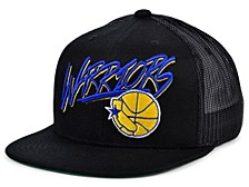 Golden State Warriors Hardwood Classic Trucker Cap