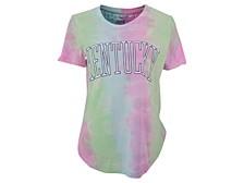 Women's Kentucky Wildcats Bay Tiedye T-Shirt