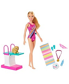 Dreamhouse Adventures™ Swim 'n Dive™ Doll and Accessories