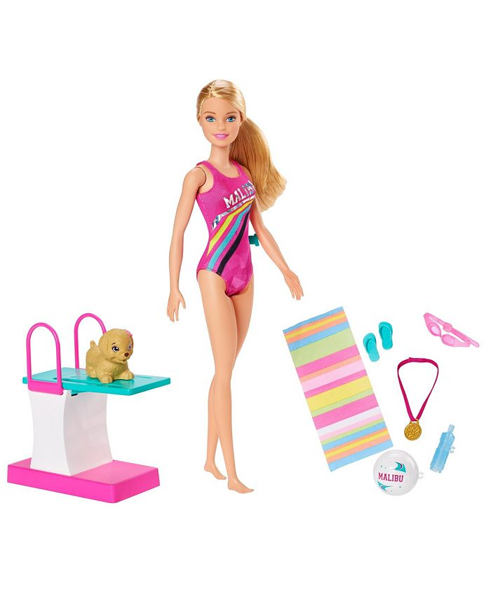 Barbie - ® Dreamhouse Adventures™ Swim 'n Dive™ Doll and Accessories
