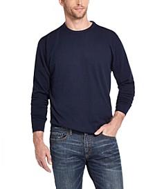 Men's Cotton Cashmere Crew Neck Sweater