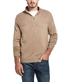Men's Soft Touch 1/4 Zip Sweater