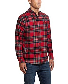 Men's Tartan Plaid Flannel Shirt