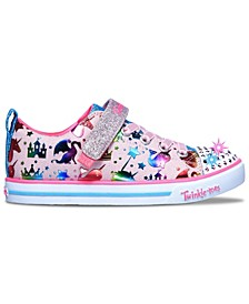 Little Girls Twinkle Toes Sparkle Lite Princessland Casual Sneakers from Finish Line