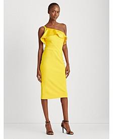 Jersey One-Shoulder Dress