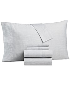 CLOSEOUT! 4-Pc. California King Sheet Set, 325-Thread Count 100% Cotton, Created for Macy's