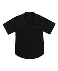 Men's Spike Trim Short Sleeve Shirt