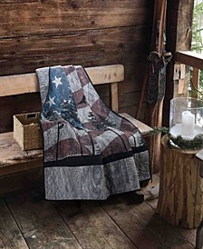 "Free Bird Decorative Throw, 50"" L X 60"" W"