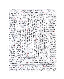 ED Ellen Degeneres I Love Paris Percale Twin Sheet Set