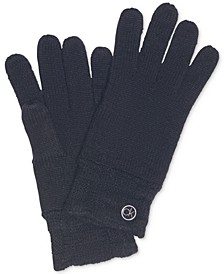 Chain-Cable Knit Tech Gloves