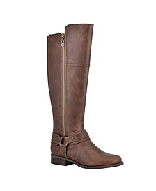 Women's Harlea Wide-Calf Tall Riding Boots