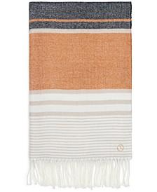 Cozy Striped Blanket Scarf