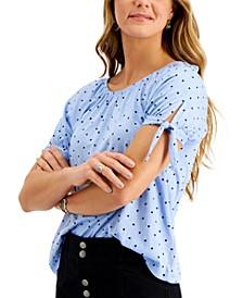 Printed Off-The-Shoulder Top, Created for Macy's