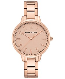 Rose Gold-Tone Bracelet Watch 38mm