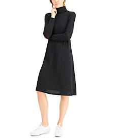 Turtleneck Midi Dress, Created for Macy's