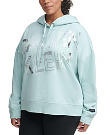 Plus Size Graphic Hooded Sweatshirt