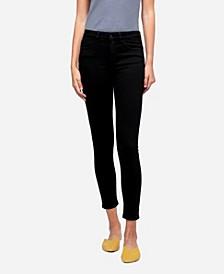 Women's Mid Rise Skinny Crop Jeans