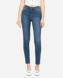 Women's High Rise Super Stretch Skinny Ankle Jeans
