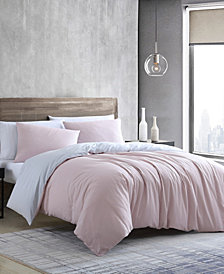 Kenneth Cole New York Miro Solid Excel Duvet Cover Set, Twin
