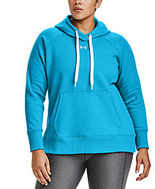 Under Armour Plus Size Rival Hoodie