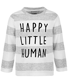 Baby Boys Happy Little Human Long-Sleeve T-Shirt, Created for Macy's