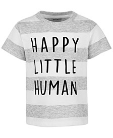 Baby Boys Happy Little Human T-Shirt, Created for Macy's