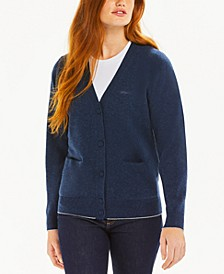 Wool V-Neck Cardigan