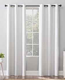 """Cyrus Blackout Grommet Curtain Panel, 40"""" x 63"""""""