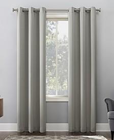 """Preston 40"""" x 84"""" Grommet Top Blackout Curtain Panel"""