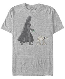 Men's Star Wars Vader Walker Short Sleeve T-shirt