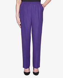 Women's Plus Size Classics Textured Proportioned Medium Pant