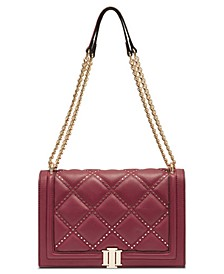 INC Ajae Flap Studded Crossbody, Created for Macy's