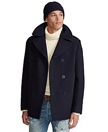 Men's Polo Melton Peacoat