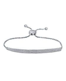 Diamond Bolo Bracelet (3 ct. t.w.) in 14K White Gold