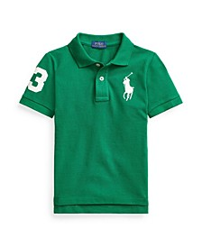 Toddler Boys Classic Fit Cotton Mesh Polo Shirt