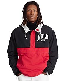 Men's Water-Repellent Graphic Pullover