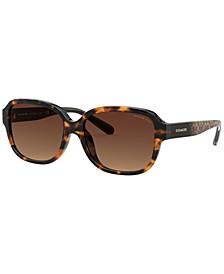 Women's Polarized Sunglasses, HC8298U 57 L1153