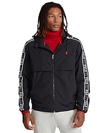 Men's Water-Repellent Hooded Jacket
