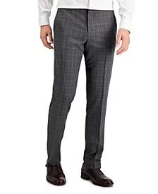 Men's Slim-Fit Performance Stretch Dress Pants