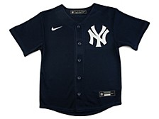 New York Yankees Kids Official Blank Jersey