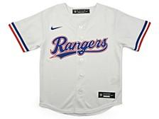 Texas Rangers Kids Official Blank Jersey