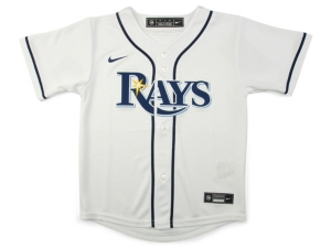 Nike TAMPA BAY RAYS KIDS OFFICIAL BLANK JERSEY