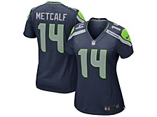 Seattle Seahawks Women's Game Jersey D.K. Metcalf